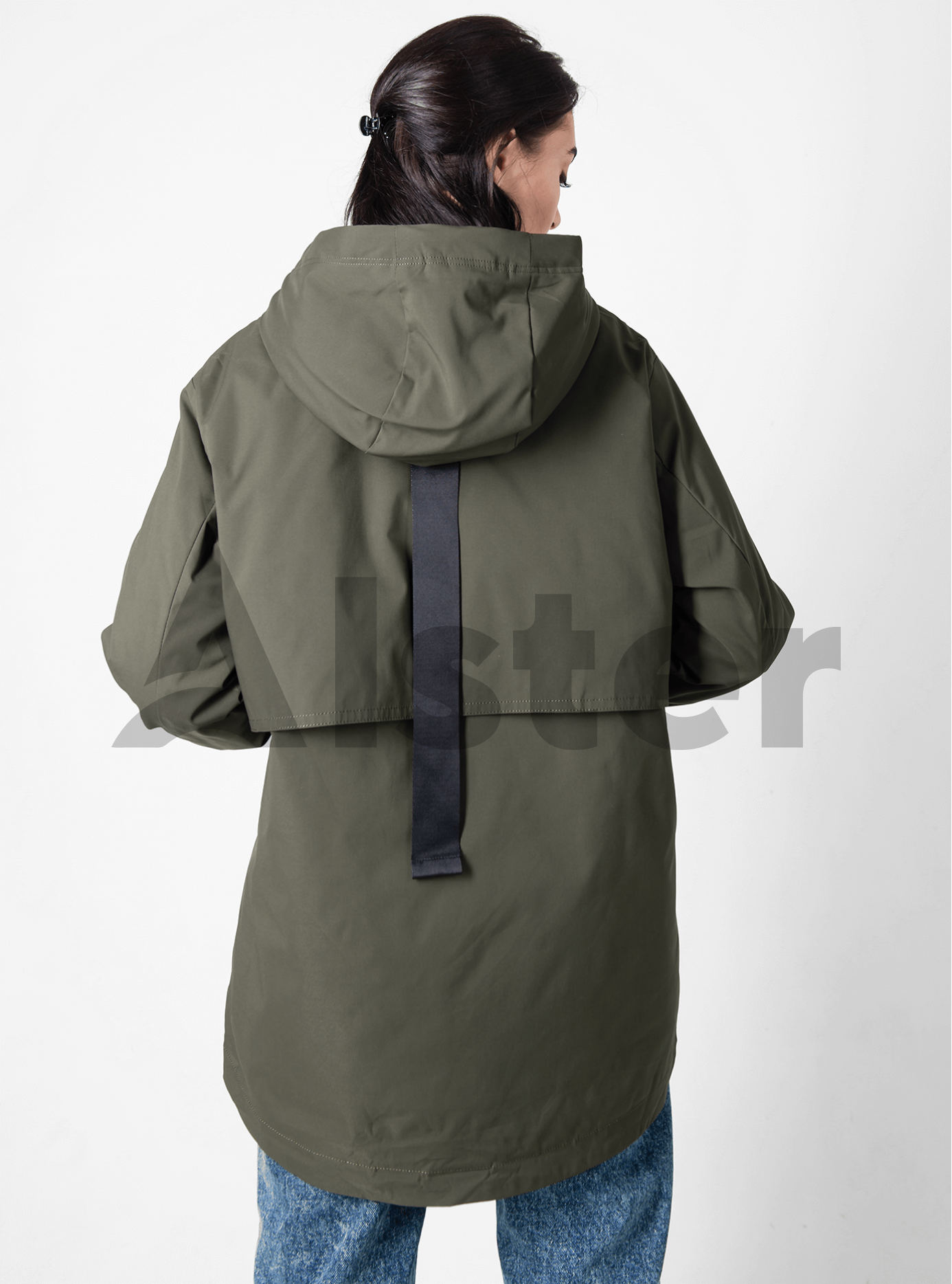 Куртка демісезонна жіноча Хакі M (02-D190107): фото - Alster.ua