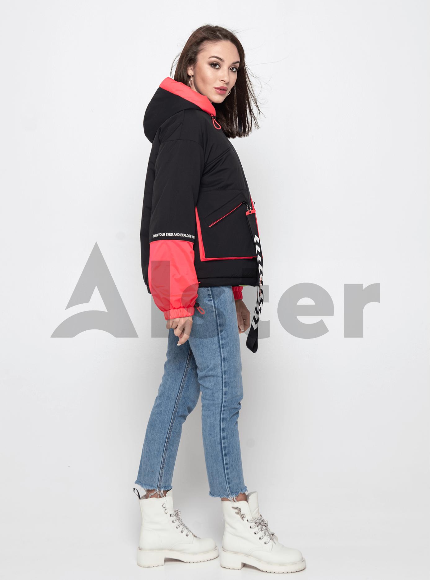 Куртка демисезонная короткая Красный L (02-Y191016): фото - Alster.ua