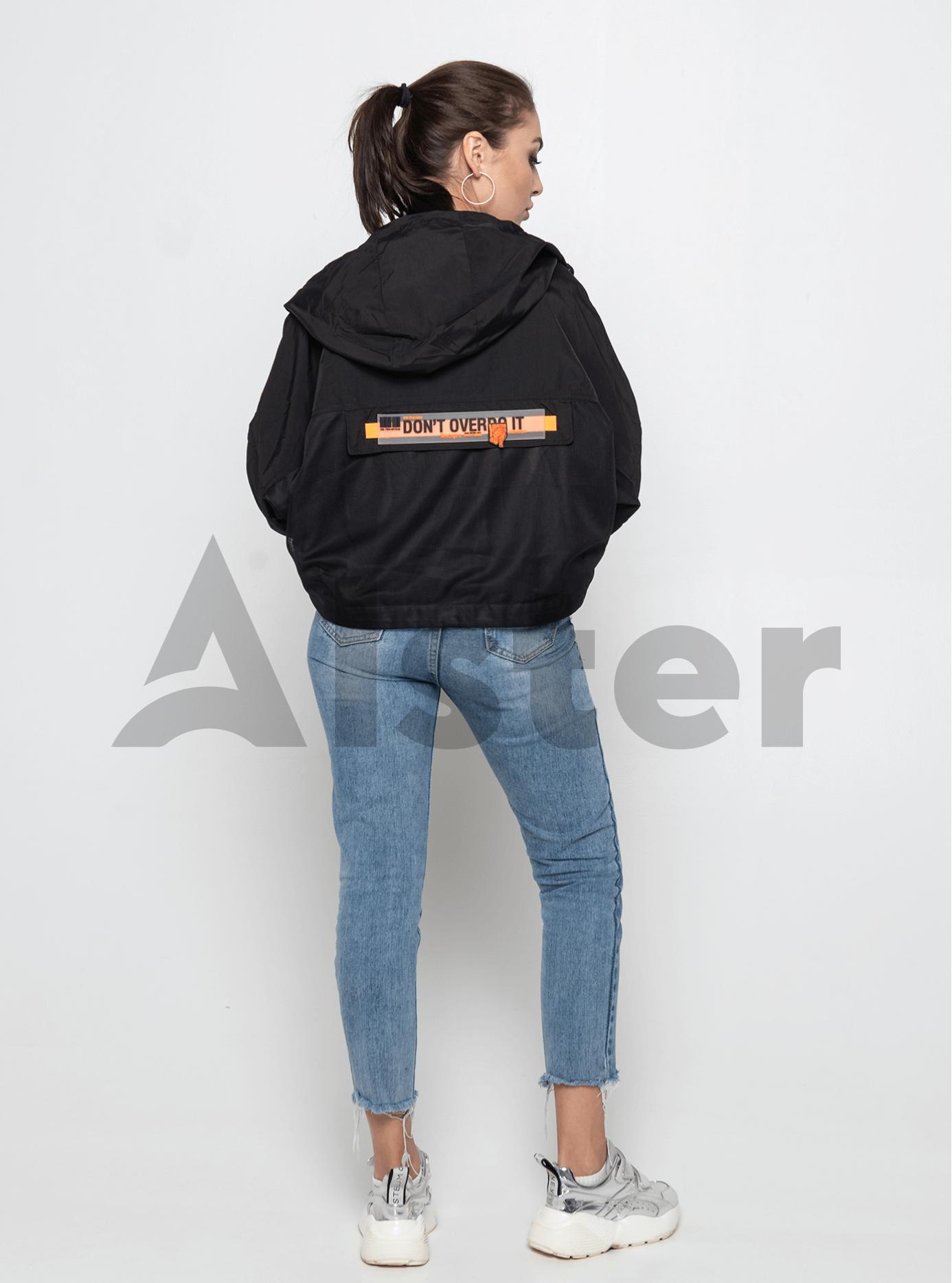 Куртка демисезонная с накладными карманами Чёрный M (02-Y191030): фото - Alster.ua
