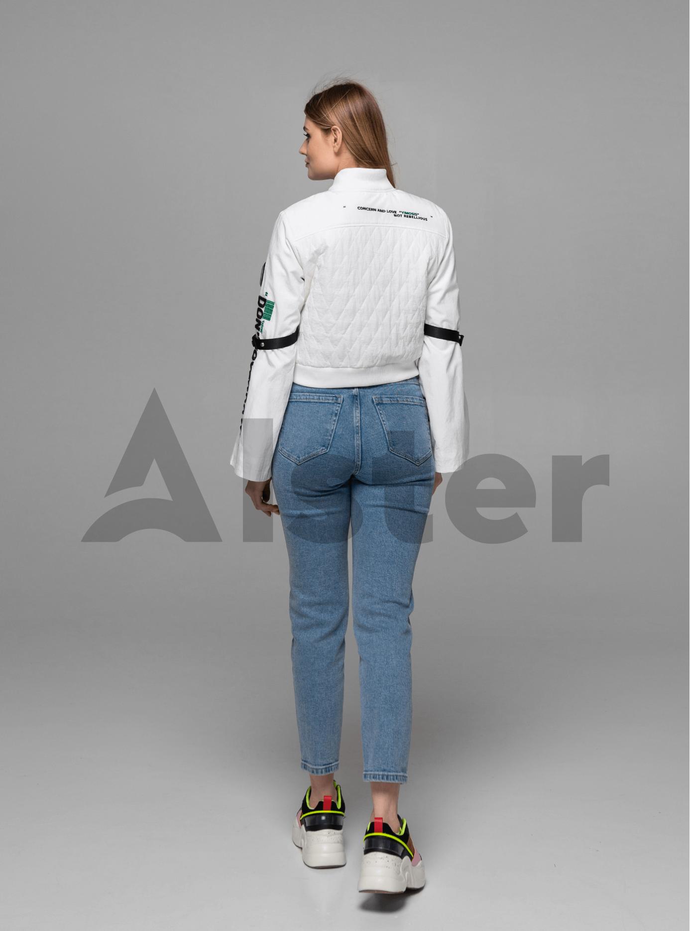 Куртка женская бомбер Белый L (02-Y191055): фото - Alster.ua
