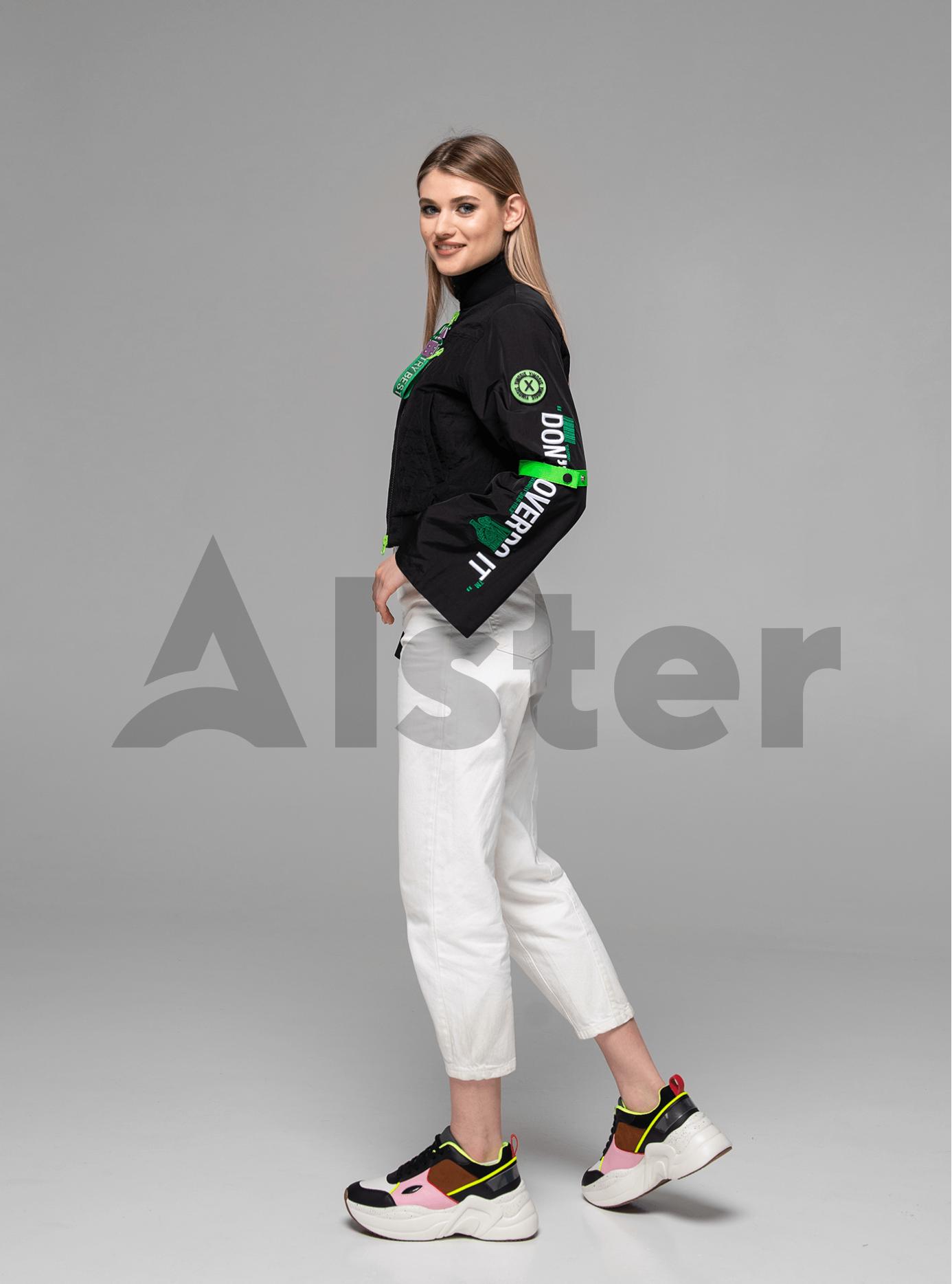 Куртка женская бомбер Чёрный M (02-Y191057): фото - Alster.ua