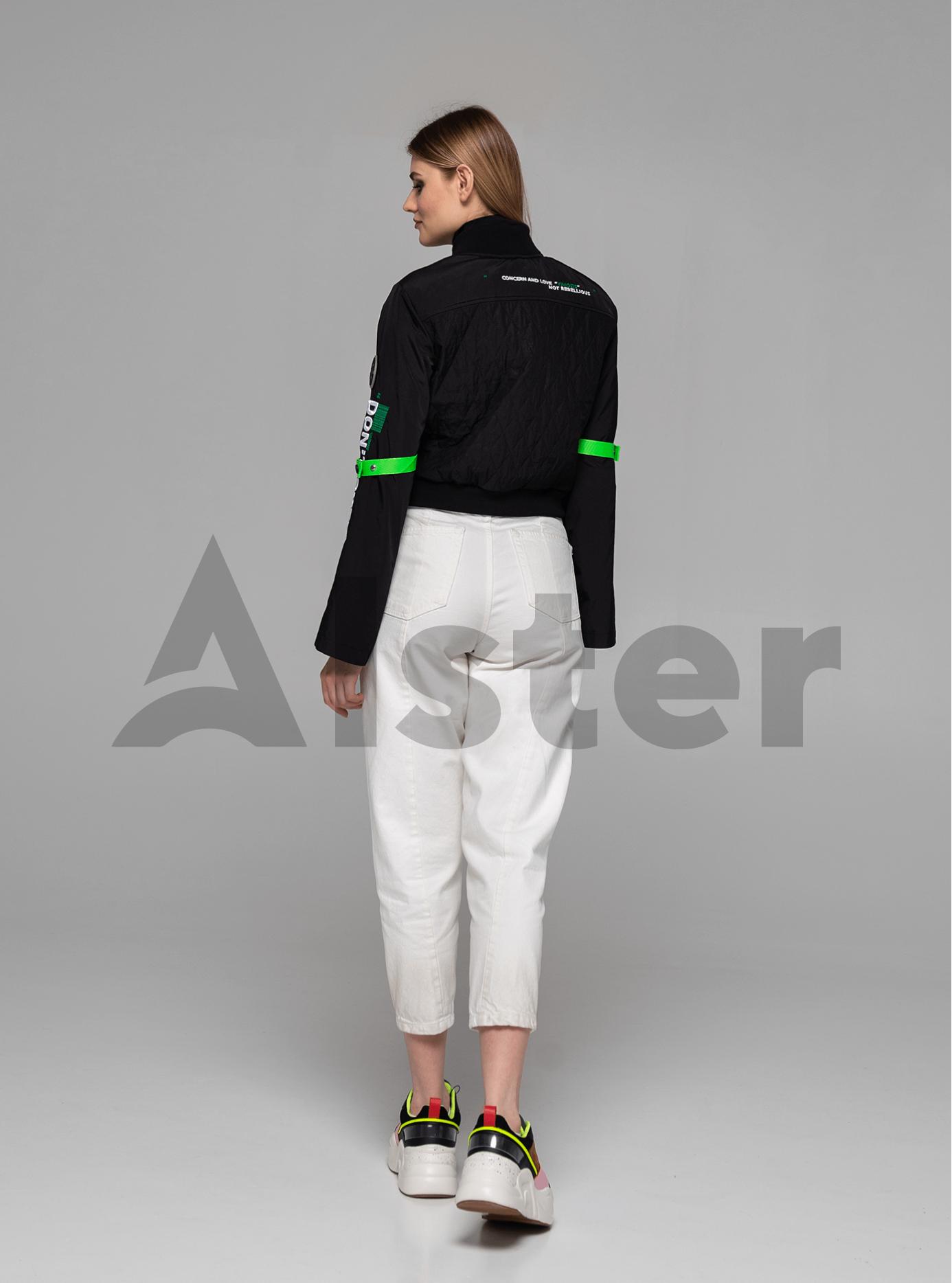 Куртка женская бомбер Чёрный S (02-Y191056): фото - Alster.ua