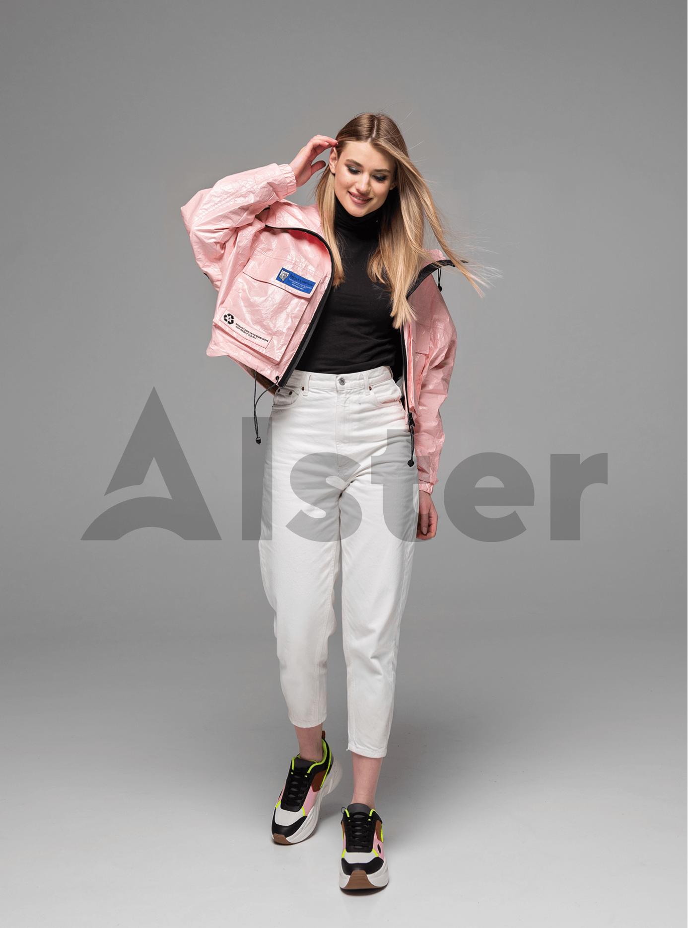 Куртка демисезонная на молнии Розовый S (02-Y191059): фото - Alster.ua