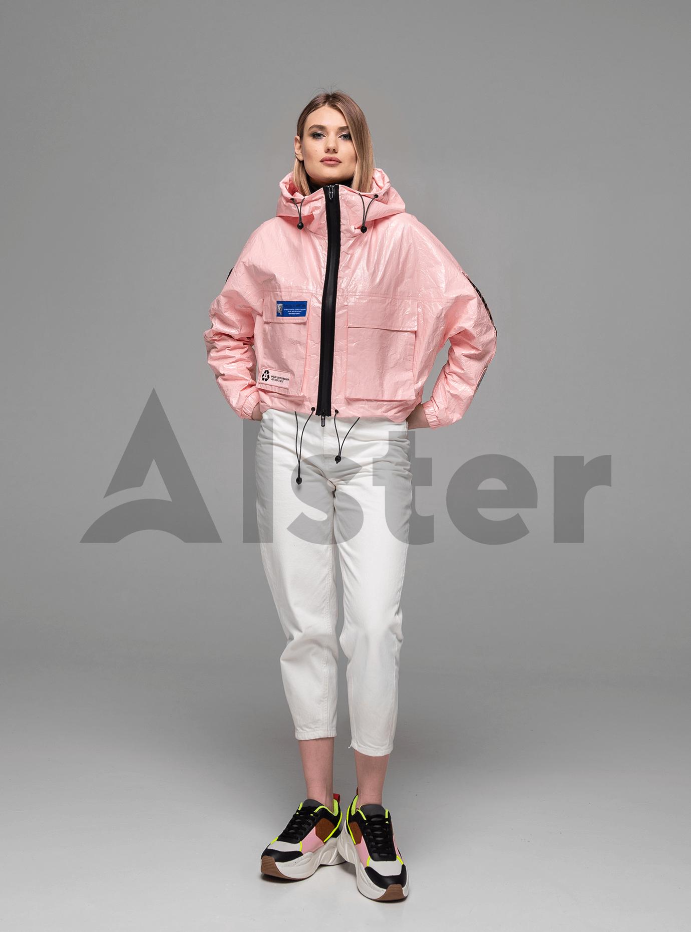 Куртка демисезонная на молнии Розовый M (02-Y191060): фото - Alster.ua