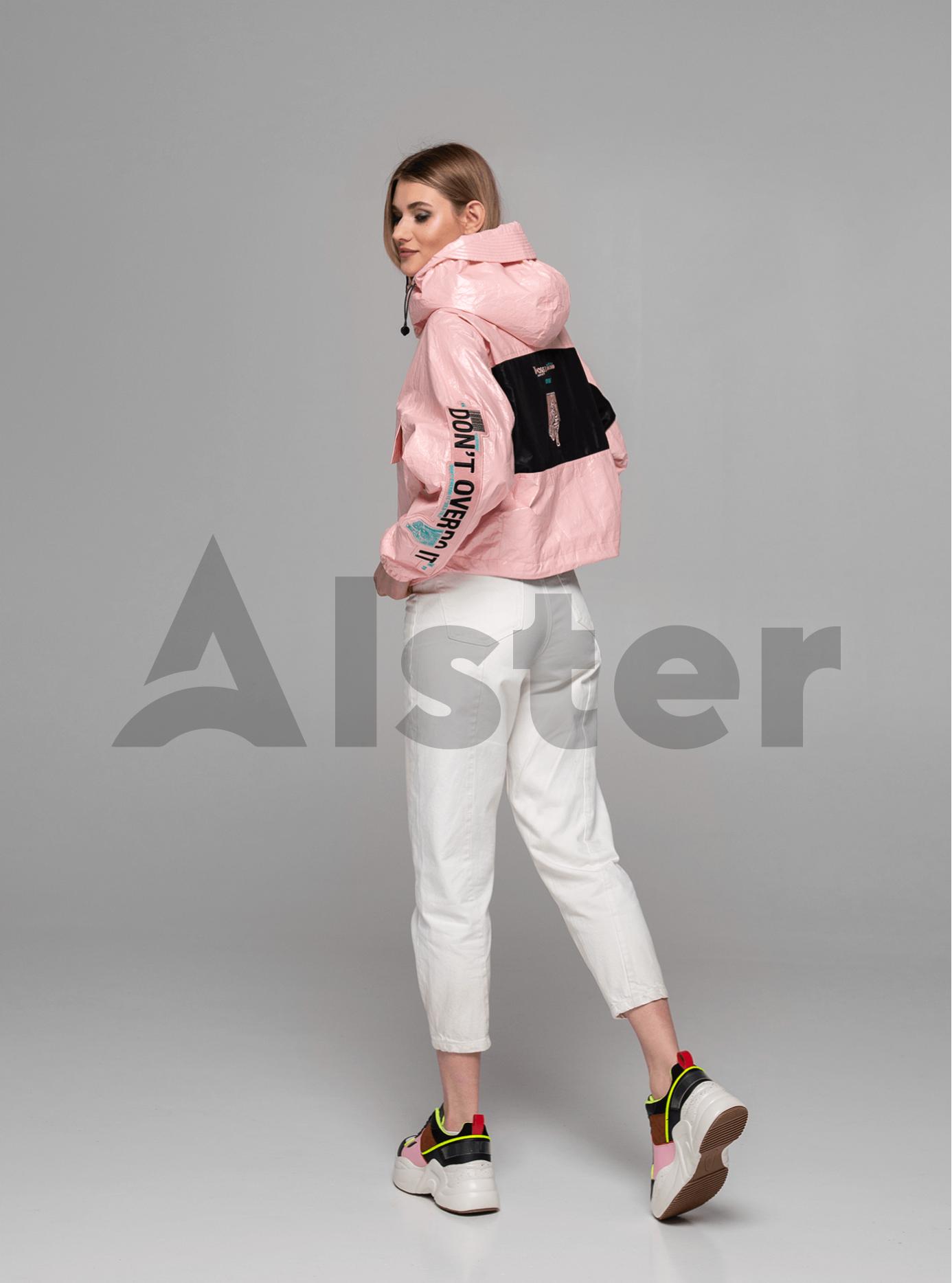 Куртка демисезонная на молнии Розовый L (02-Y191061): фото - Alster.ua