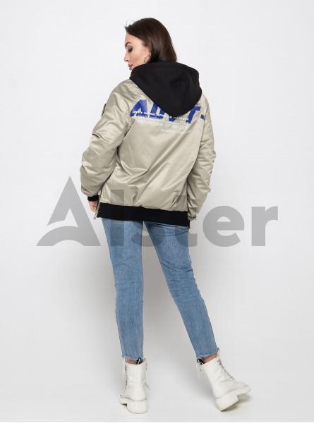 Куртка демісезонна з бічними блискавками