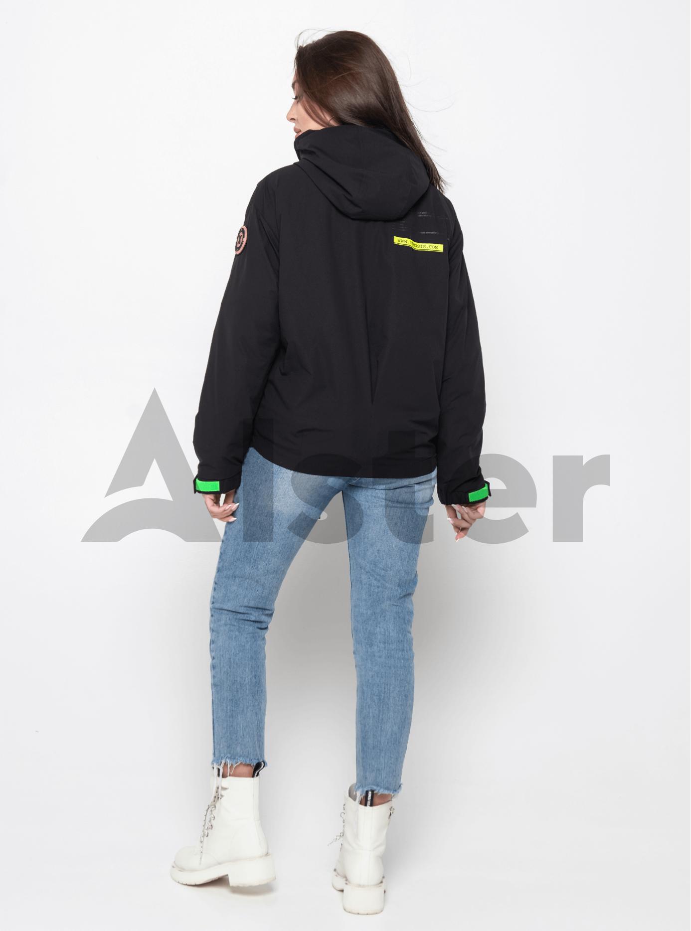Куртка демисезонная с круглыми карманами Чёрный L (02-Y191067): фото - Alster.ua