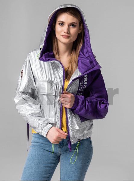 Куртка демісезонна з тасьмою