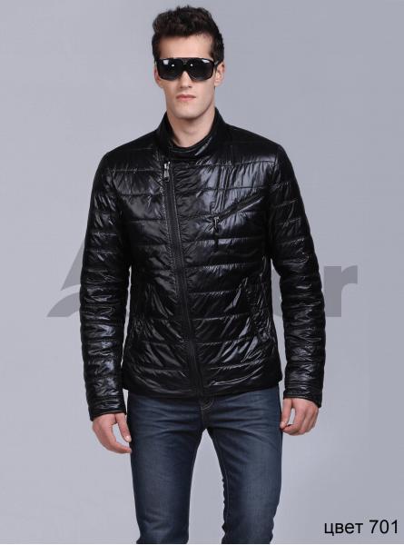 Куртка демісезонна чоловіча коса блискавка