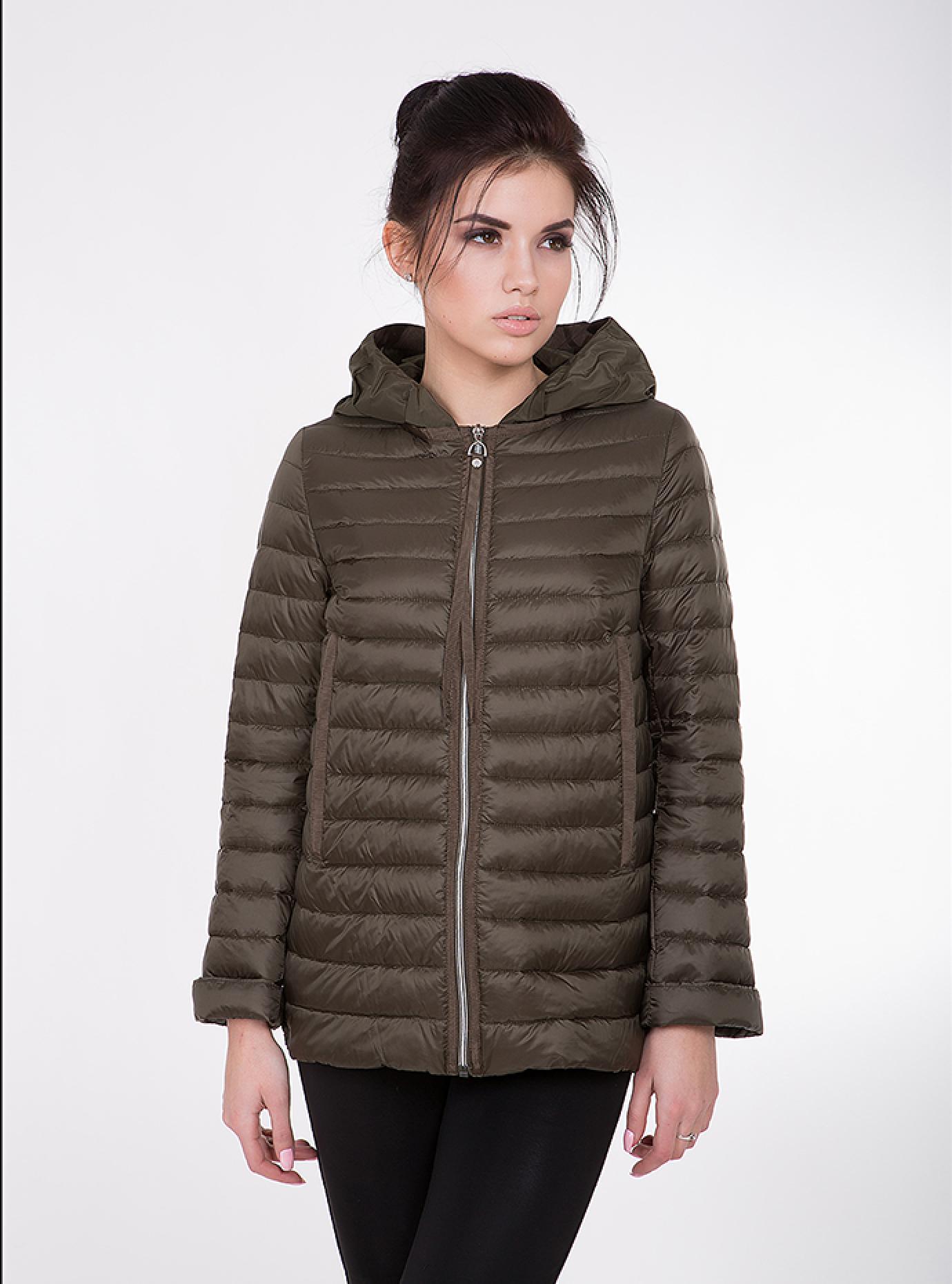 Куртка женская демисезонная на молнии Чёрный S (02-CD18158): фото - Alster.ua