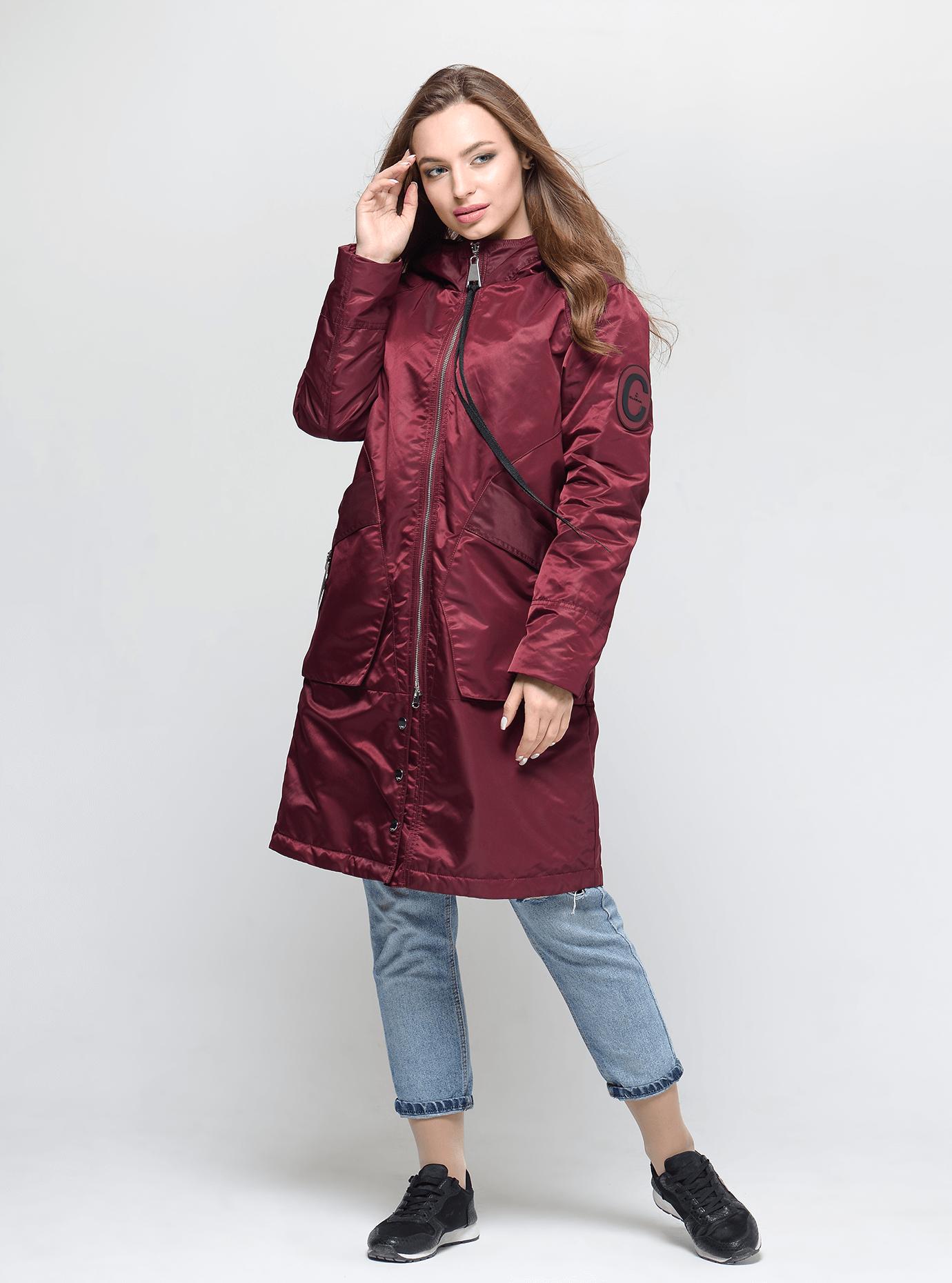 Куртка женская на весну/осень Чёрный S (02-CD18043): фото - Alster.ua