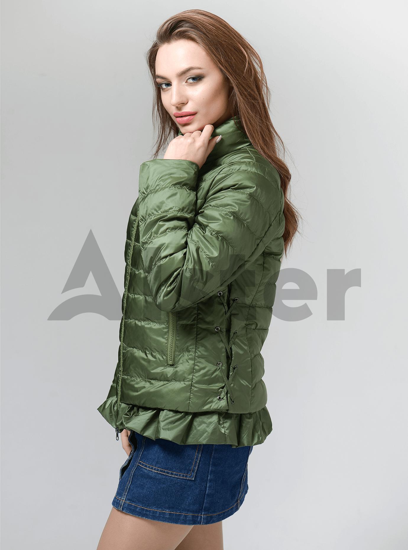 Куртка женская демисезонная короткая стёганная Голубой S (02-CD18002): фото - Alster.ua