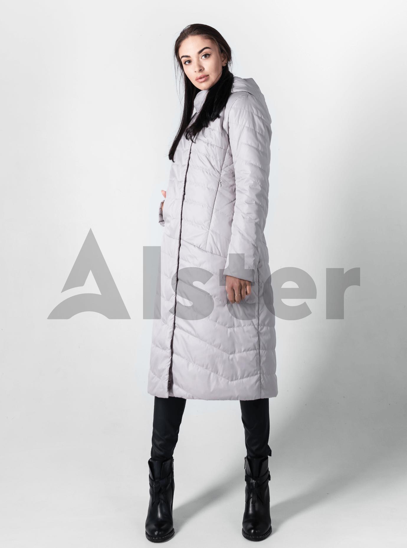 Куртка демисезонная женская с капюшоном Светло-бежевый M (02-D190147): фото - Alster.ua