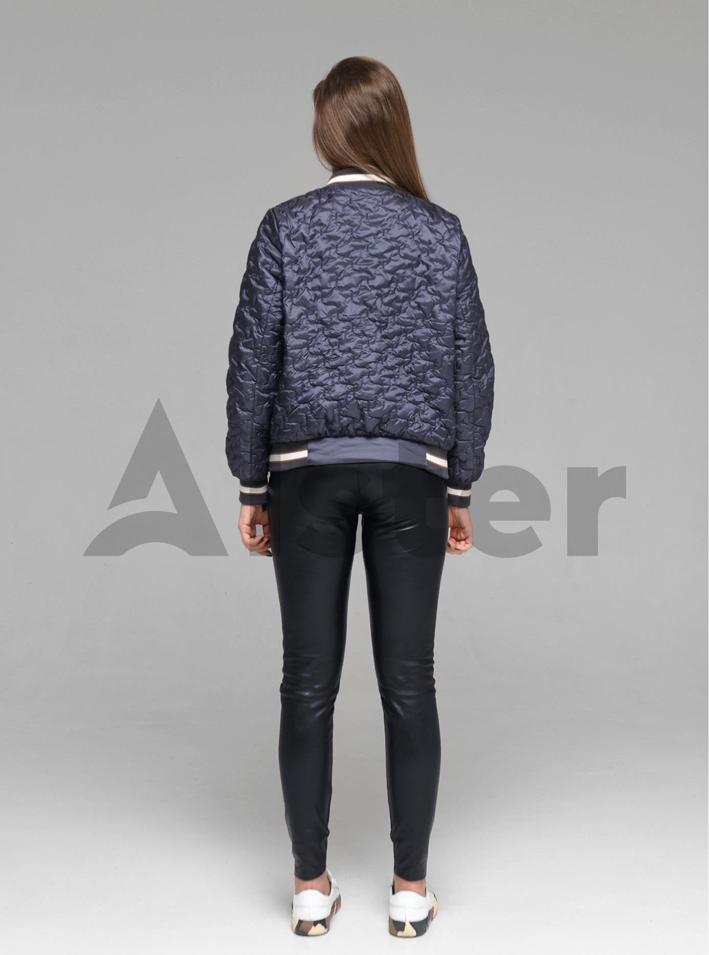 Куртка демисезонная женская Графитовый M (02-D190115): фото - Alster.ua