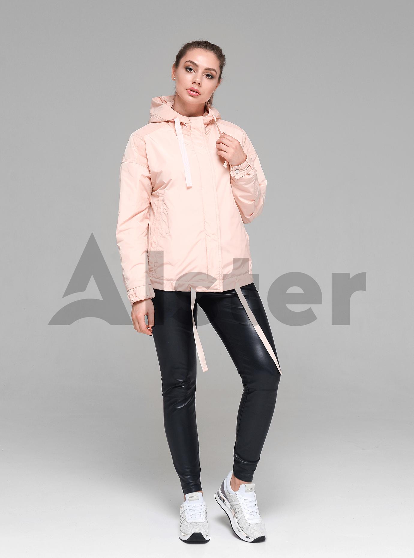 Куртка демисезонная женская Светло розовый XL (02-D190117): фото - Alster.ua