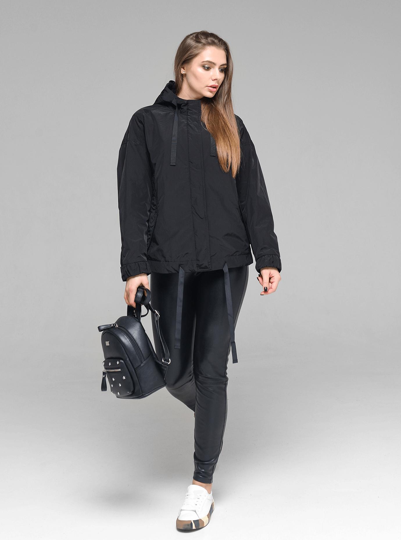 Куртка демисезонная женская Чёрный 2XL (02-D190124): фото - Alster.ua
