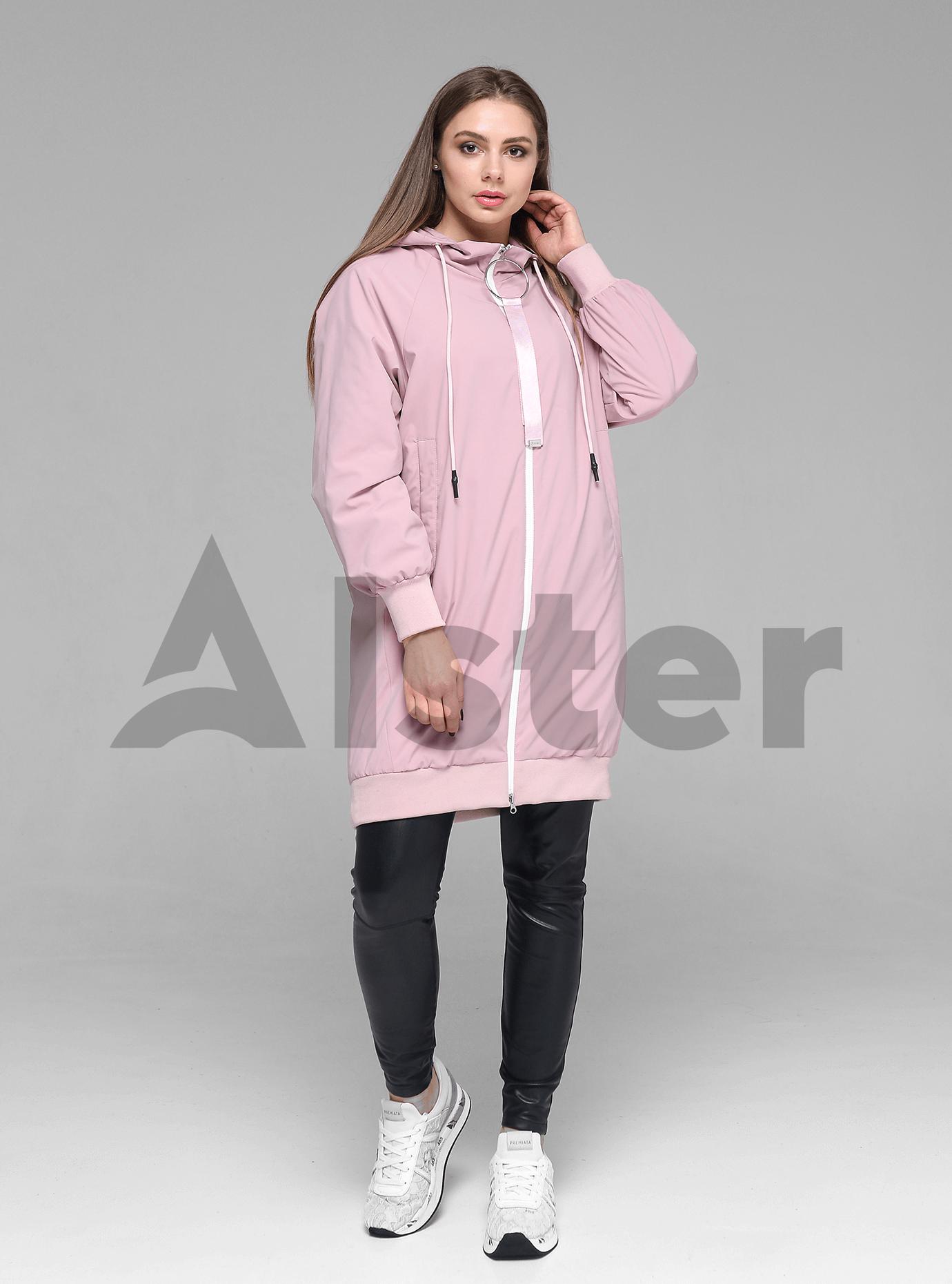 Куртка демисезонная женская с капюшоном Песочный L (02-D190166): фото - Alster.ua