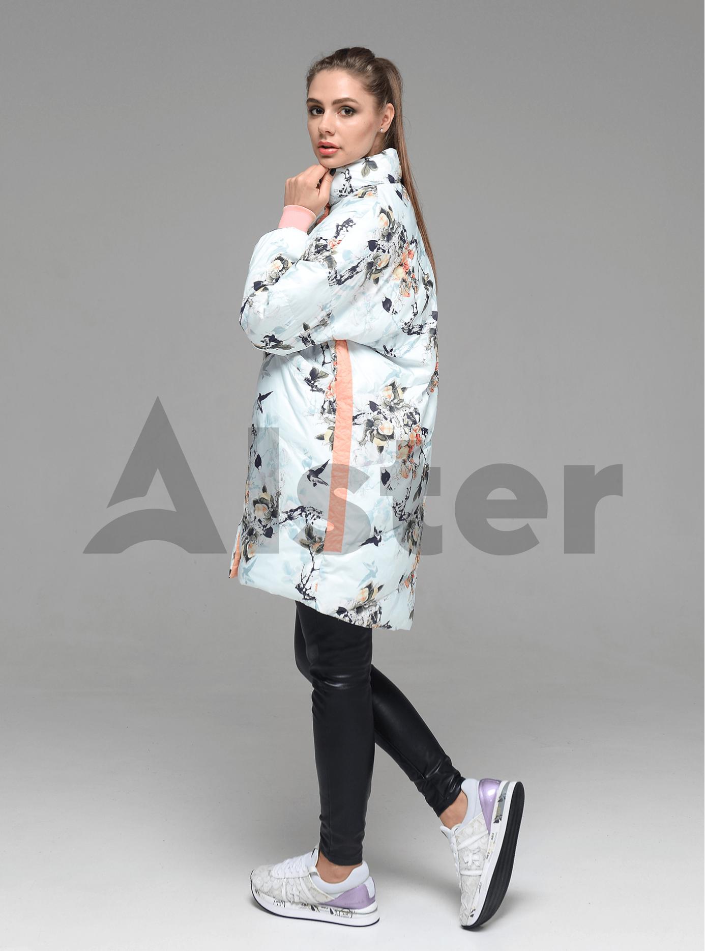 Куртка демисезонная женская Персиковый L (02-D190128): фото - Alster.ua