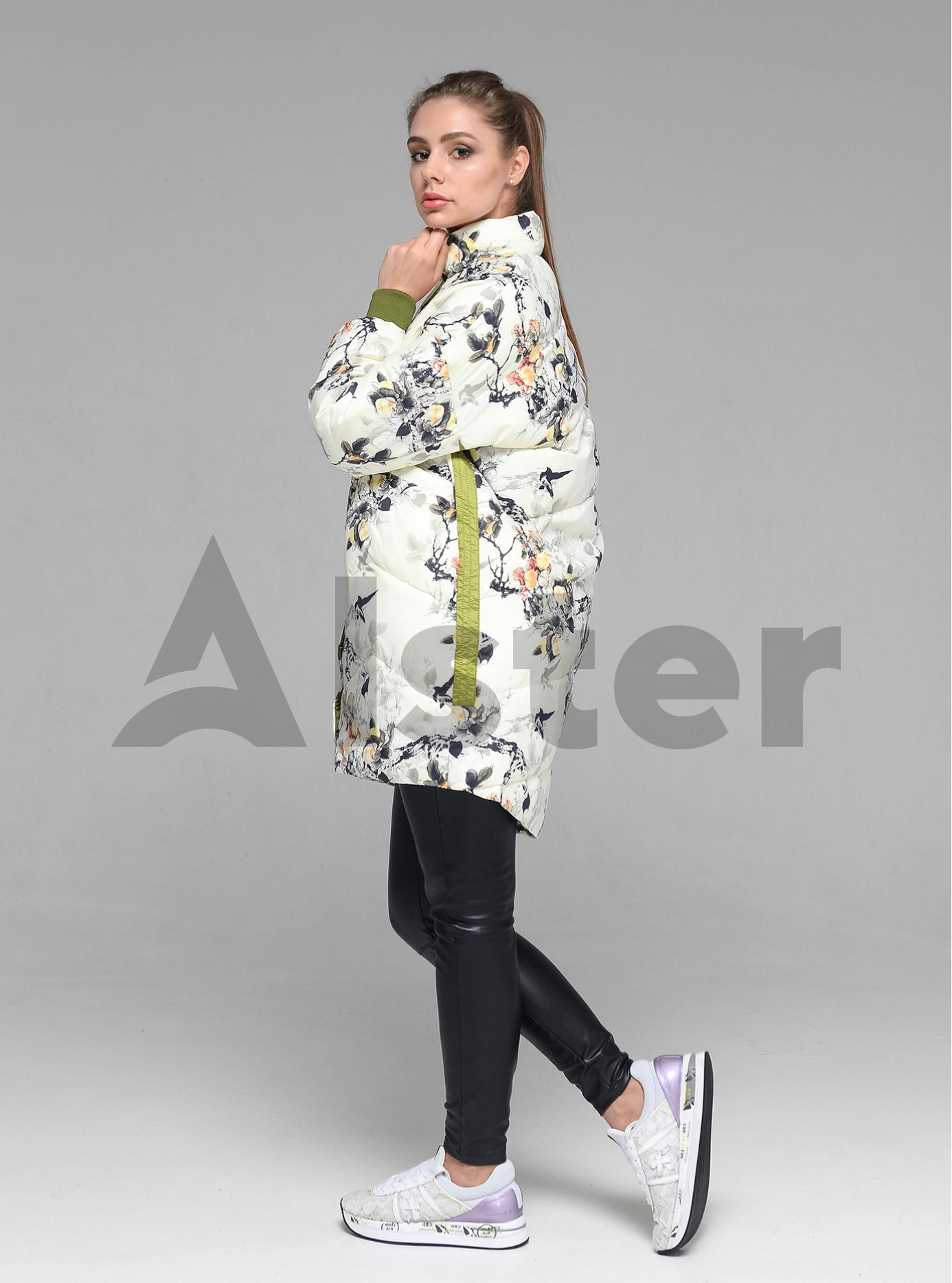 Куртка демисезонная женская Тёмно-зелёный M (02-D190130): фото - Alster.ua