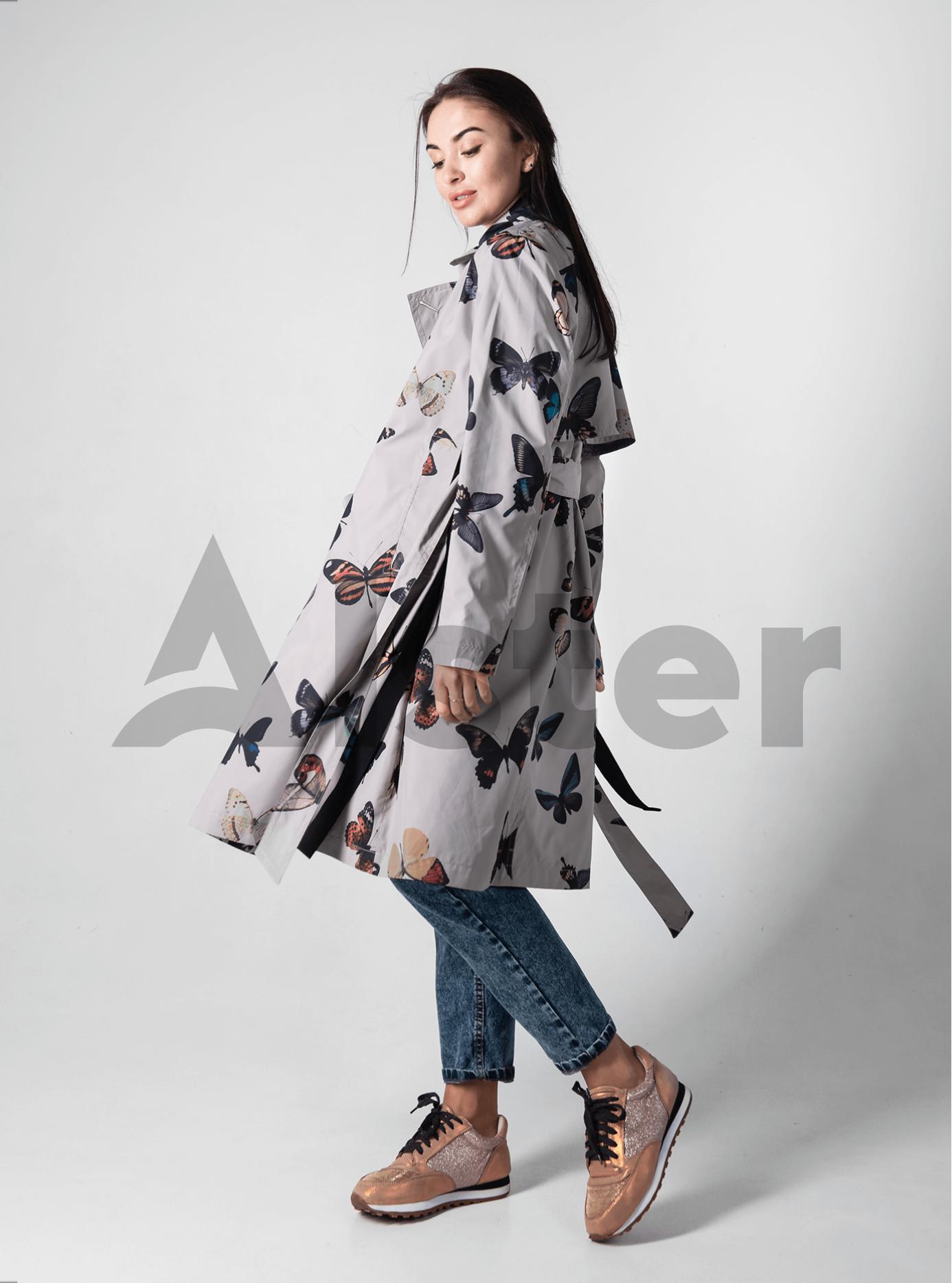 Женское пальто демисезонное Светло-серый L (02-D190175): фото - Alster.ua