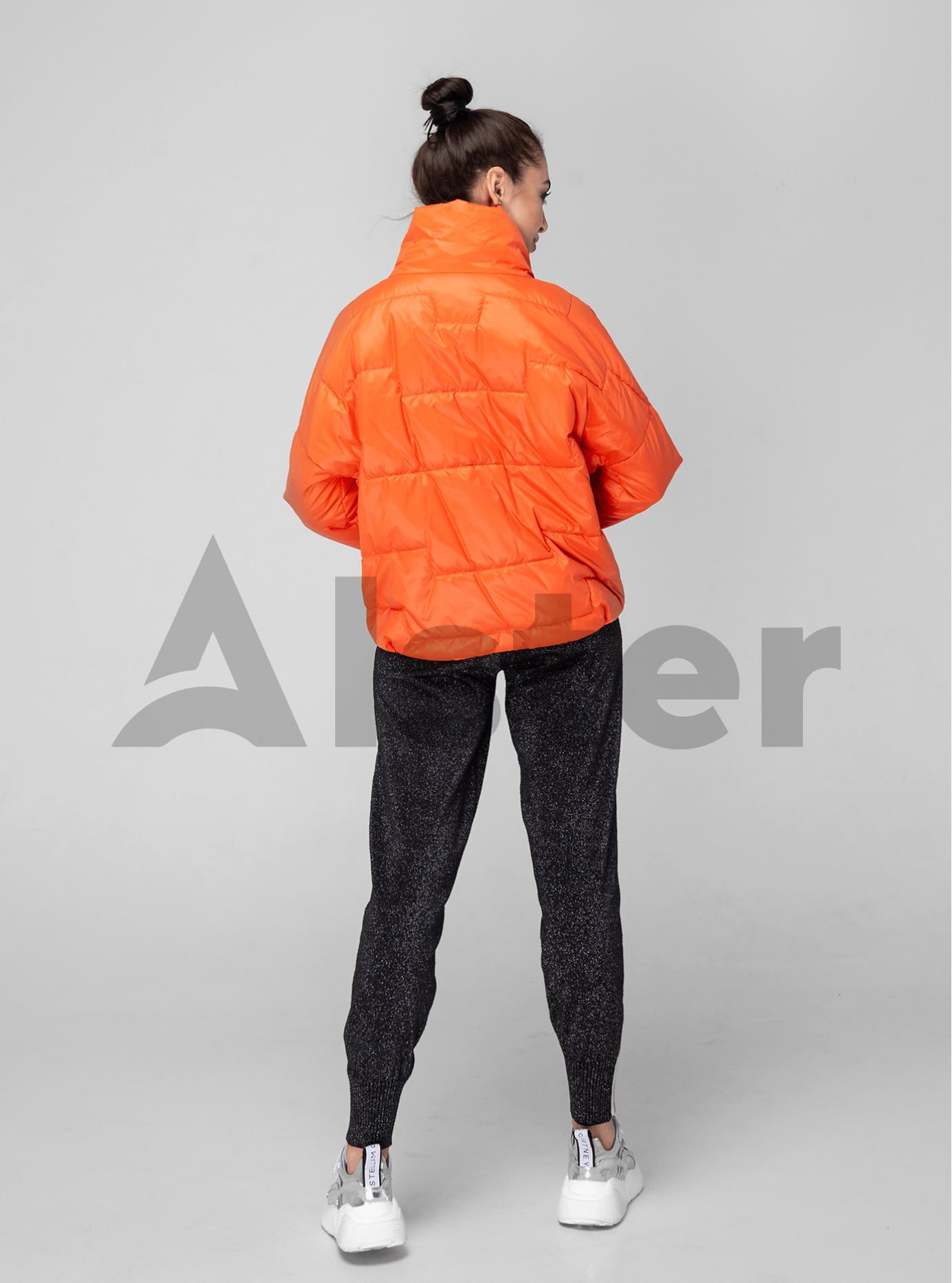 Куртка женская весна/осень Оранжевый 40 (02-KT190116): фото - Alster.ua