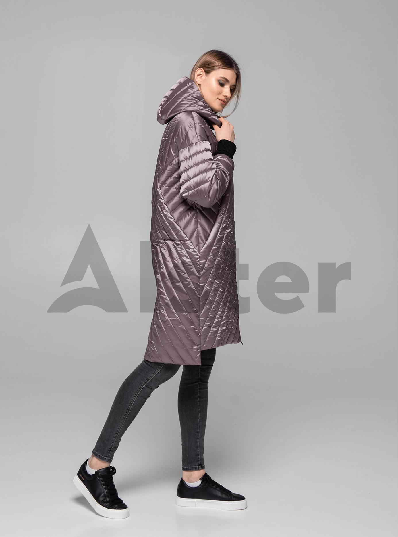Куртка жіноча демісезонна подовжена Визон S (02-KT190021): фото - Alster.ua