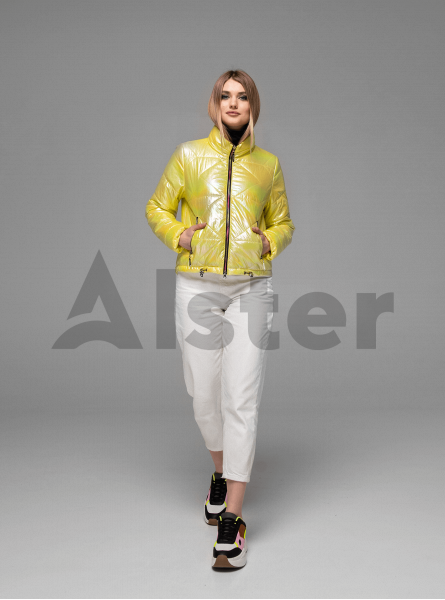 Женская демисезонная куртка хамелеон
