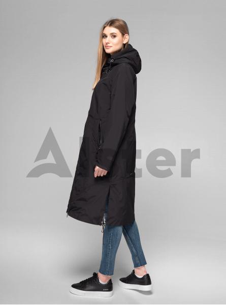 Куртка демисезонная длинная прямая