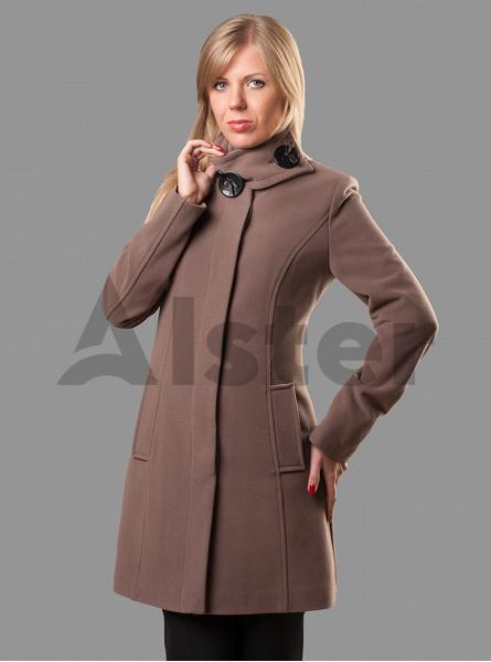 Пальто демисезонное классическое приталенное