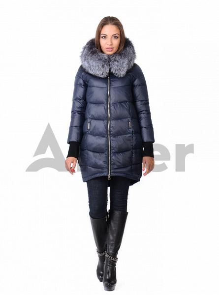 Зимняя куртка женская с манжетами