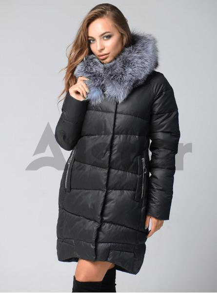 Зимняя куртка женская до колена