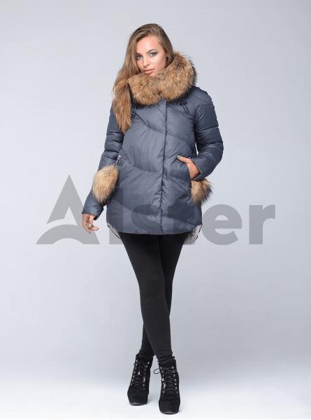 Зимняя куртка женская прямой фасон