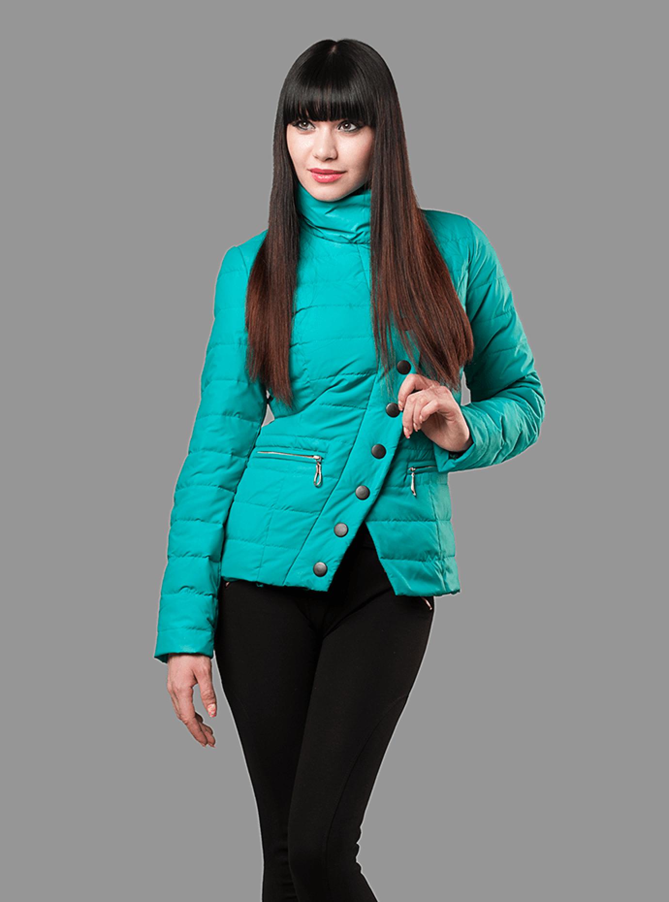 Куртка демисезонная женская Красный S (01-RR16003): фото - Alster.ua