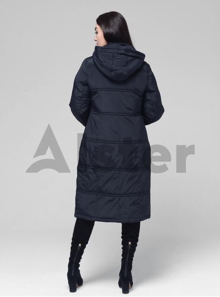 Куртка зимняя длинная с капюшоном