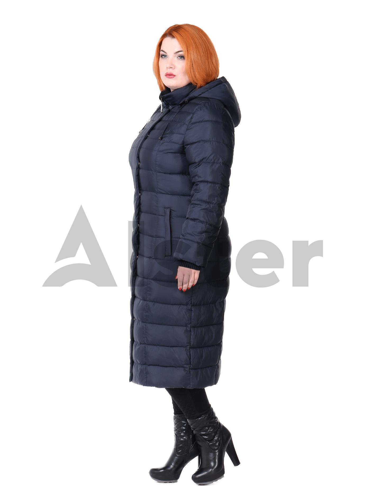 Куртка женская зимняя длинная Чёрный S (05-ZZ19093): фото - Alster.ua