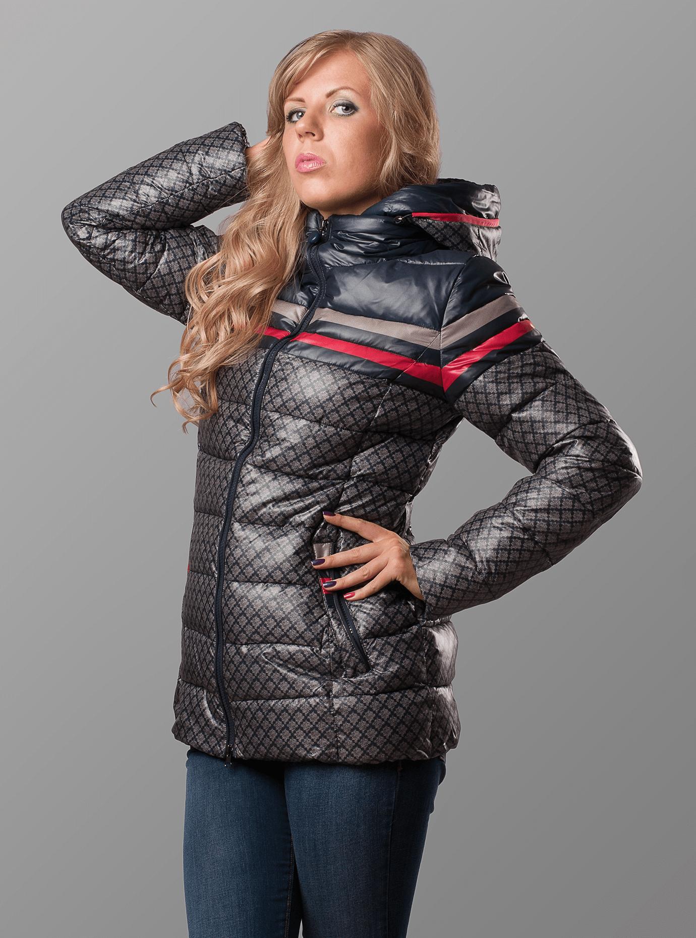 Куртка зимняя женская Тёмно-серый S (01-RR16011): фото - Alster.ua