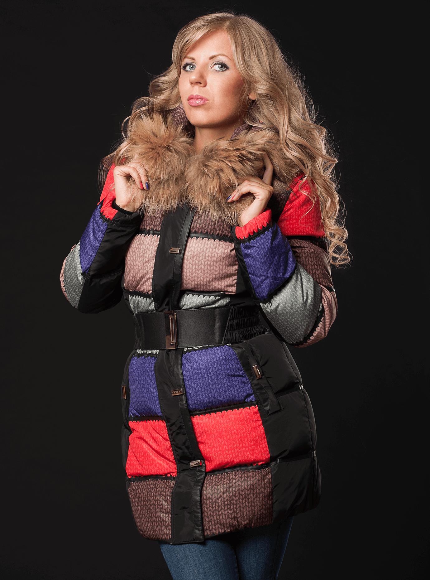 Куртка зимняя женская Чёрный S (01-RR16016): фото - Alster.ua