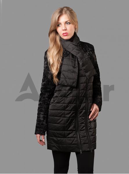 Куртка зимняя женская две молнии