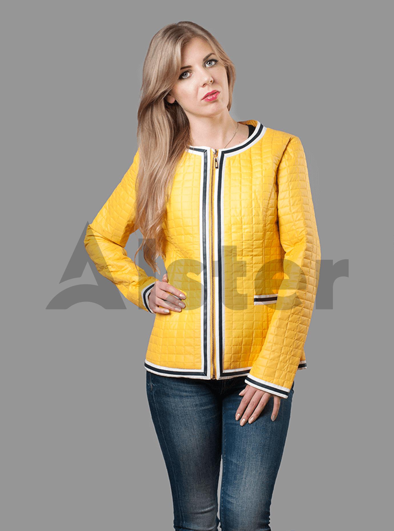 Куртка демисезонная женская Синий S (01-RR17019): фото - Alster.ua