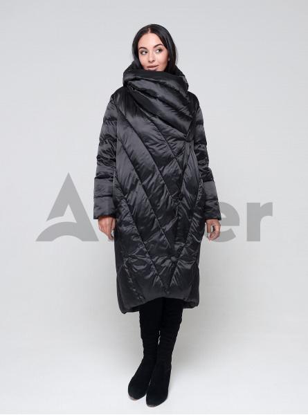 Куртка зимняя длинная оверсайз