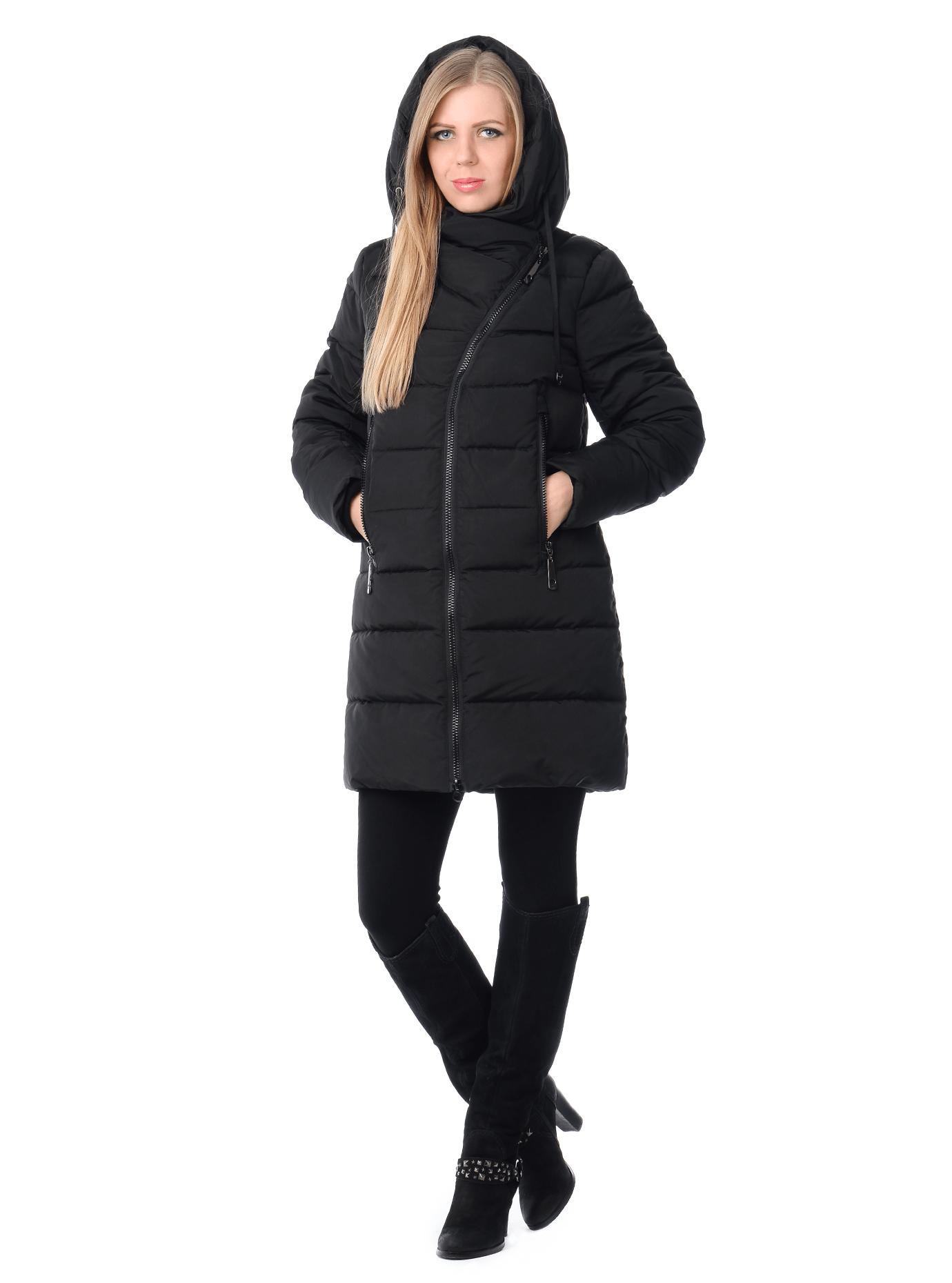 Куртка зимняя на молнии Тёмно-синий S (01-RR16048): фото - Alster.ua