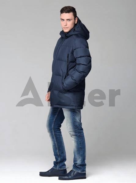 Чоловіча куртка зимова оригінальні кишені
