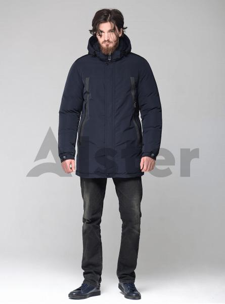 Чоловіча куртка зимова з капюшоном