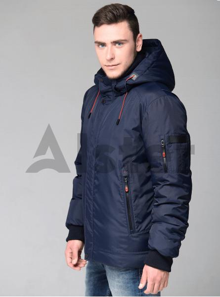 Чоловіча куртка зимова з манжетами