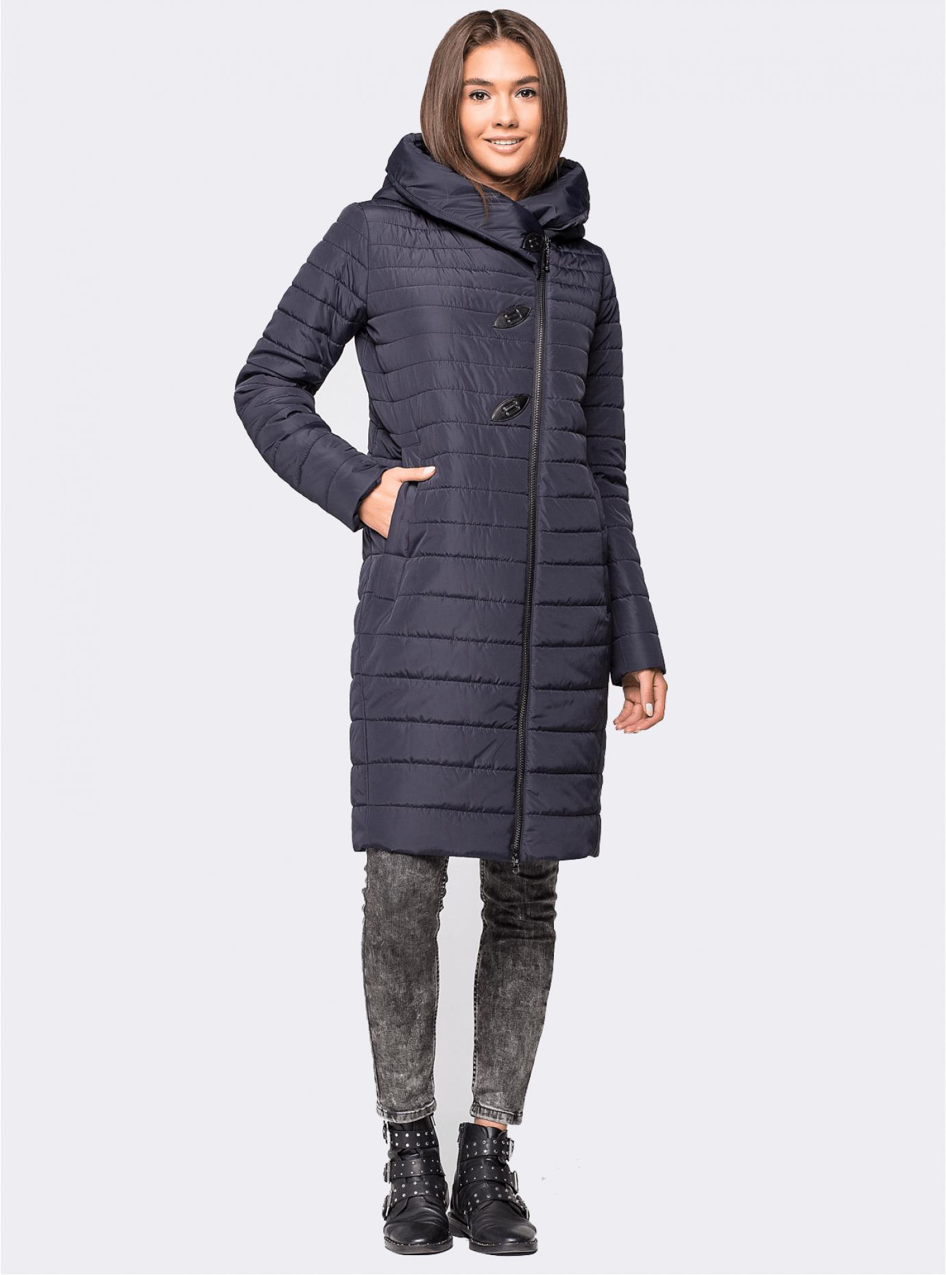 Куртка зимняя женская Синий S (01-RR17009): фото - Alster.ua