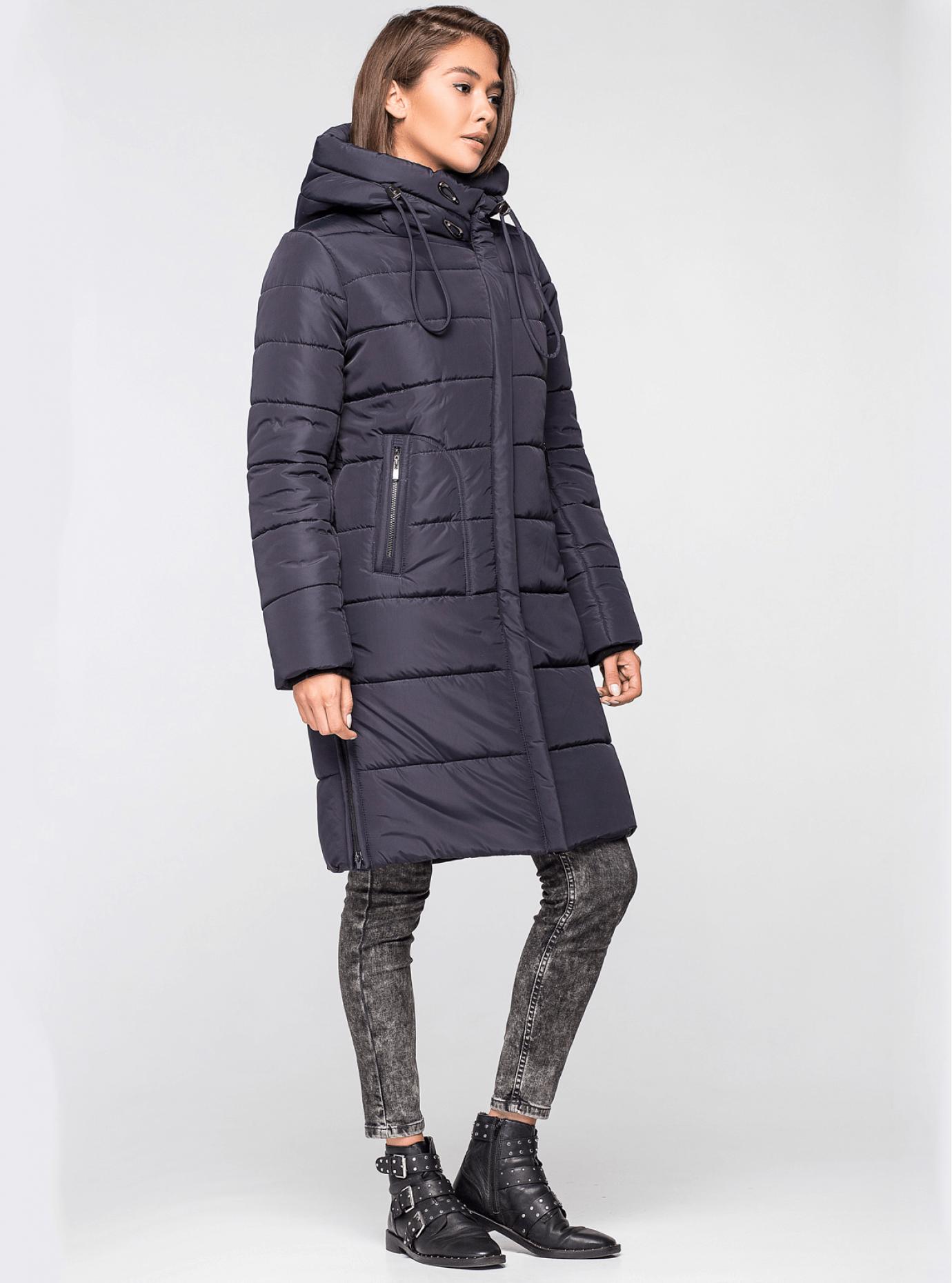 Куртка зимняя женская Синий S (01-RR17008): фото - Alster.ua