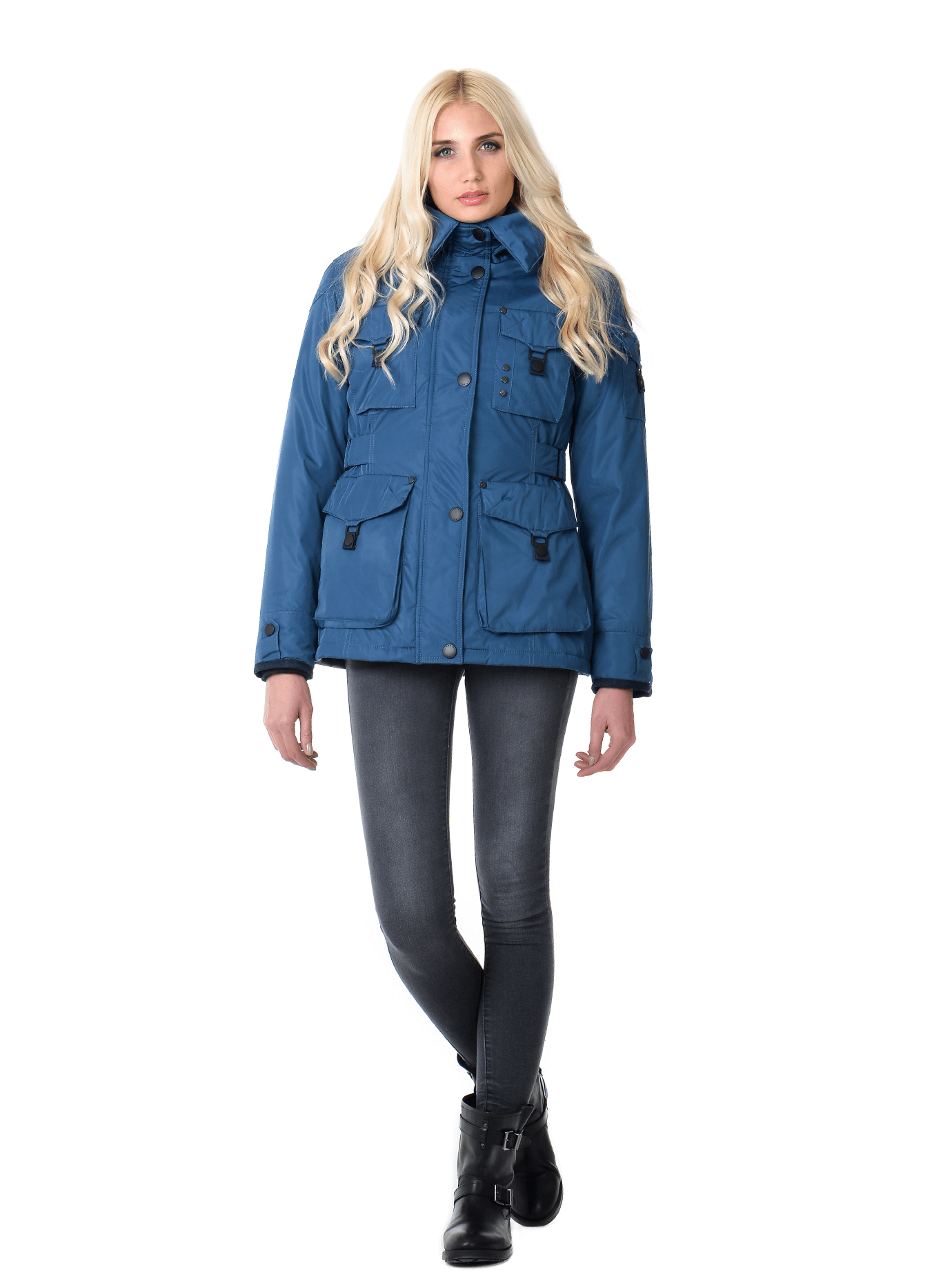 Куртка зимняя женская Синий S (01-RR17013): фото - Alster.ua