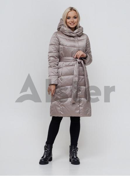 Куртка зимова з поясом