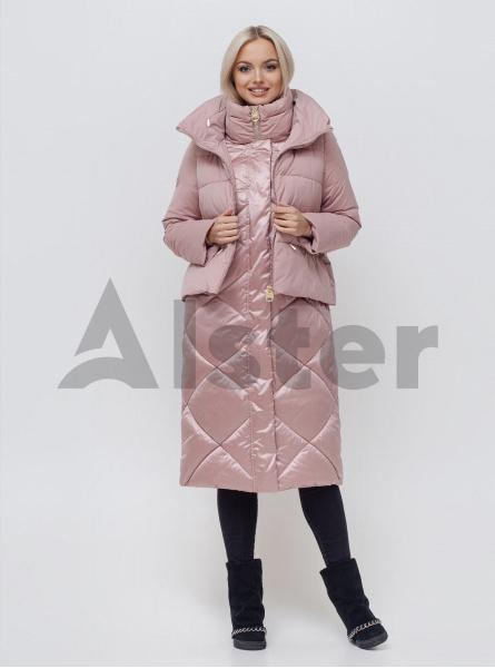 Куртка зимняя длинная с жилетом