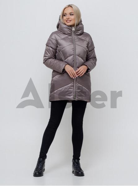 Зимова куртка-жилет середньої довжини